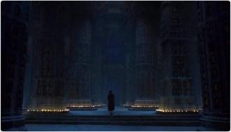 arya face hall Game of Thrones Unbowed Unbent Unbroken