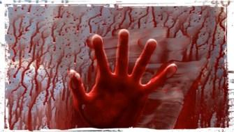 Hand Blood on Impala Supernatural Baby