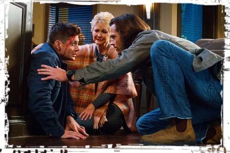 Dean Mildred Sam Supernatural Into the Mystic