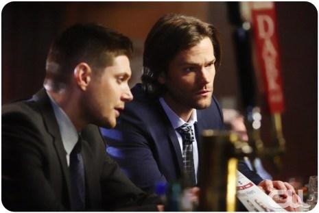 Dean Sam bar tilt Supernatural Red Meat