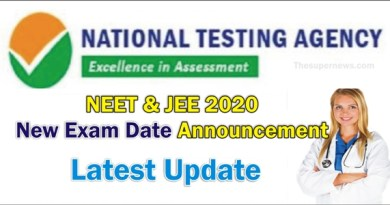 NEET 2020 Exam Date New