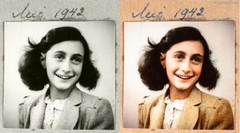 Fotos históricas em preto em branco que ganharam cores.