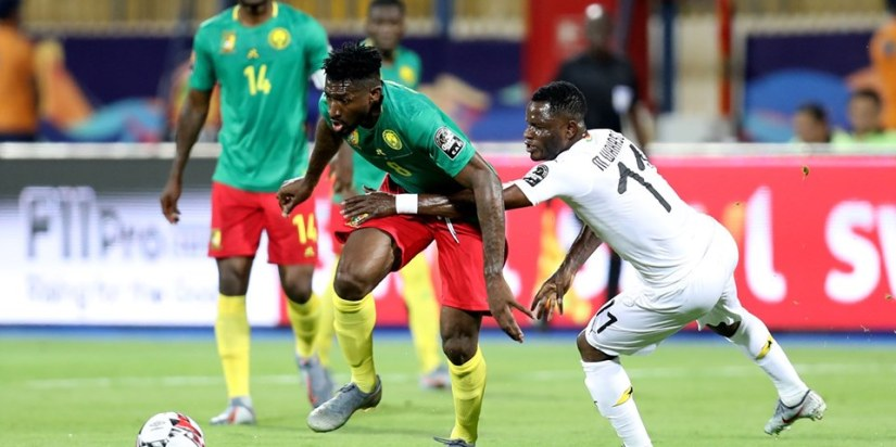Ghana and Cameroon played out a drab draw in Ismailia
