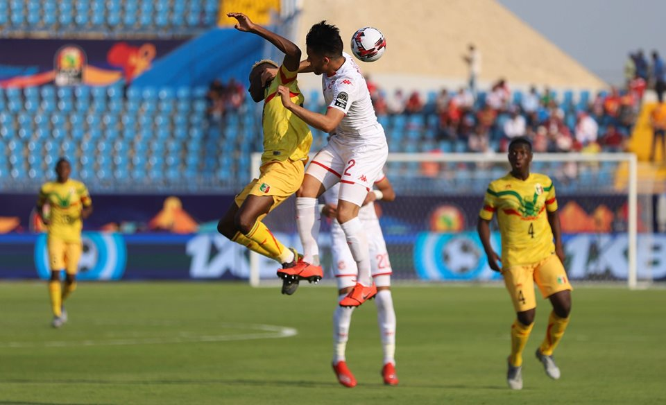 Tunisia and Mali played out an intense, physical match in Suez