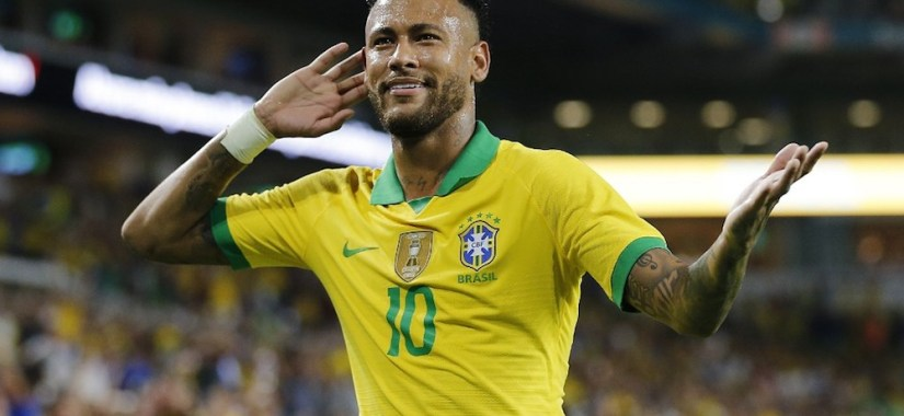 Brazil star Neymar will come up against Nigeria in October