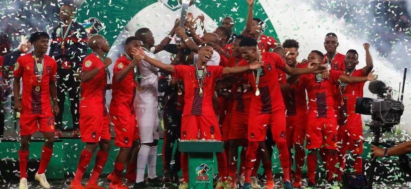 enyimba face ts galaxy in the CAF CC
