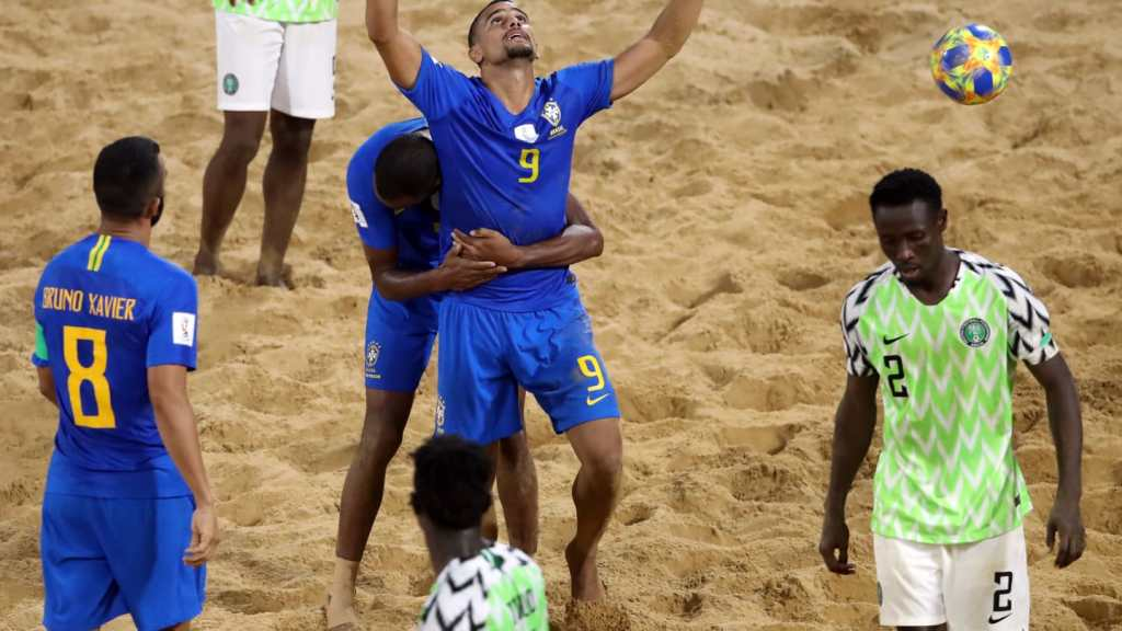 nigeria v brazil beach soccer world cup