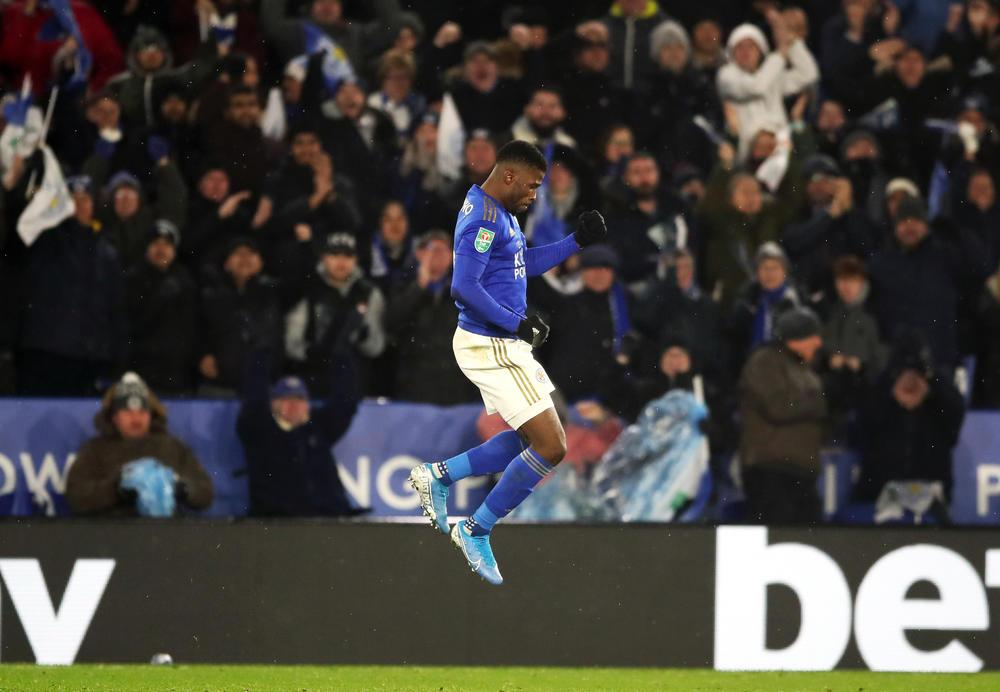KELECHI IHEANACHO SPARES LEICESTER CITY'S BLUSHES