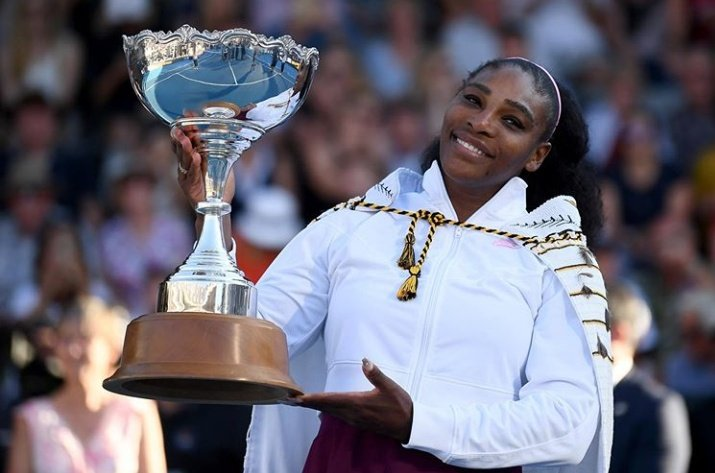 FIRST TITLE IN THREE YEARS COULD MARK A NEW BEGINNING FOR SERENA WILLIAMS