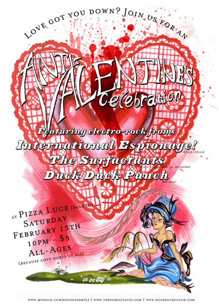 An Electro Anti Valentines Day Celebration At Luce