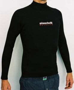 Aleeda Long Sleeve Metalite Top front view