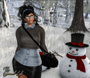 The Surreal Lyfe feat AZHARA BOUTIQUE - Double Shirt, Cecily Skirt and SaraH Boots @ We Love To Blog 3v