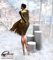 The Surreal Lyfe feat JUMO Khanna Dress Gold @ Sneak Peek 2v