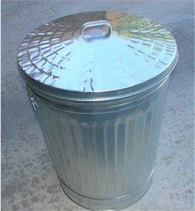 Use a galvanized steel trash can to make a Faraday cage.