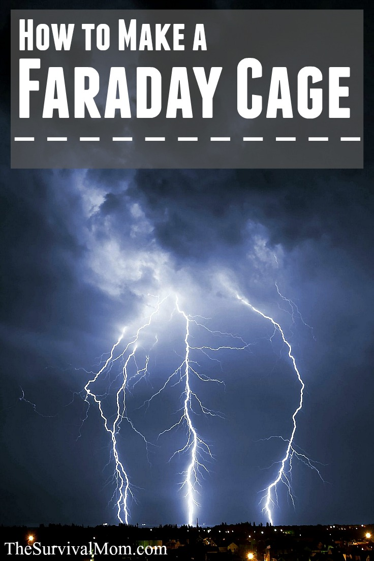 How to make a Faraday cage. www.TheSurvivalMom.com