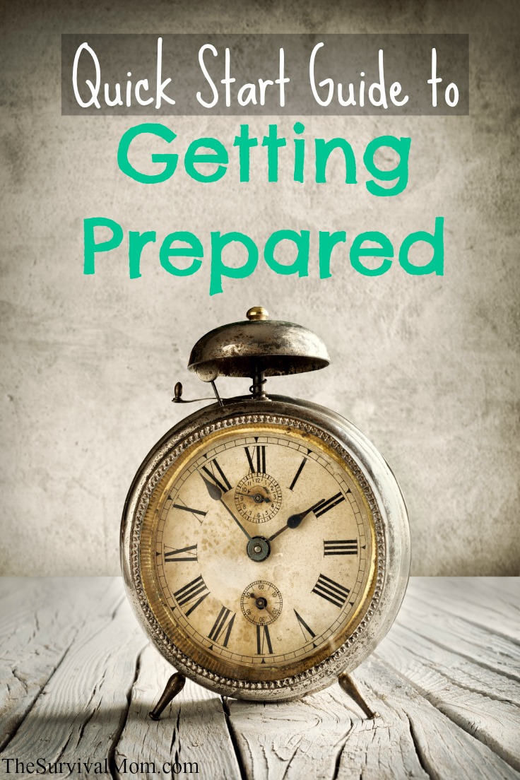 quick start guide to getting prepared