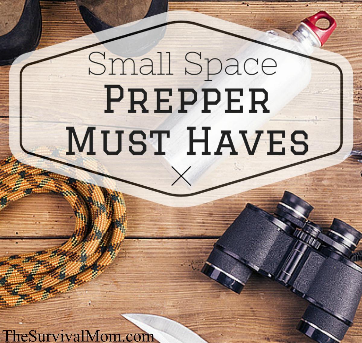 Small Space prepper