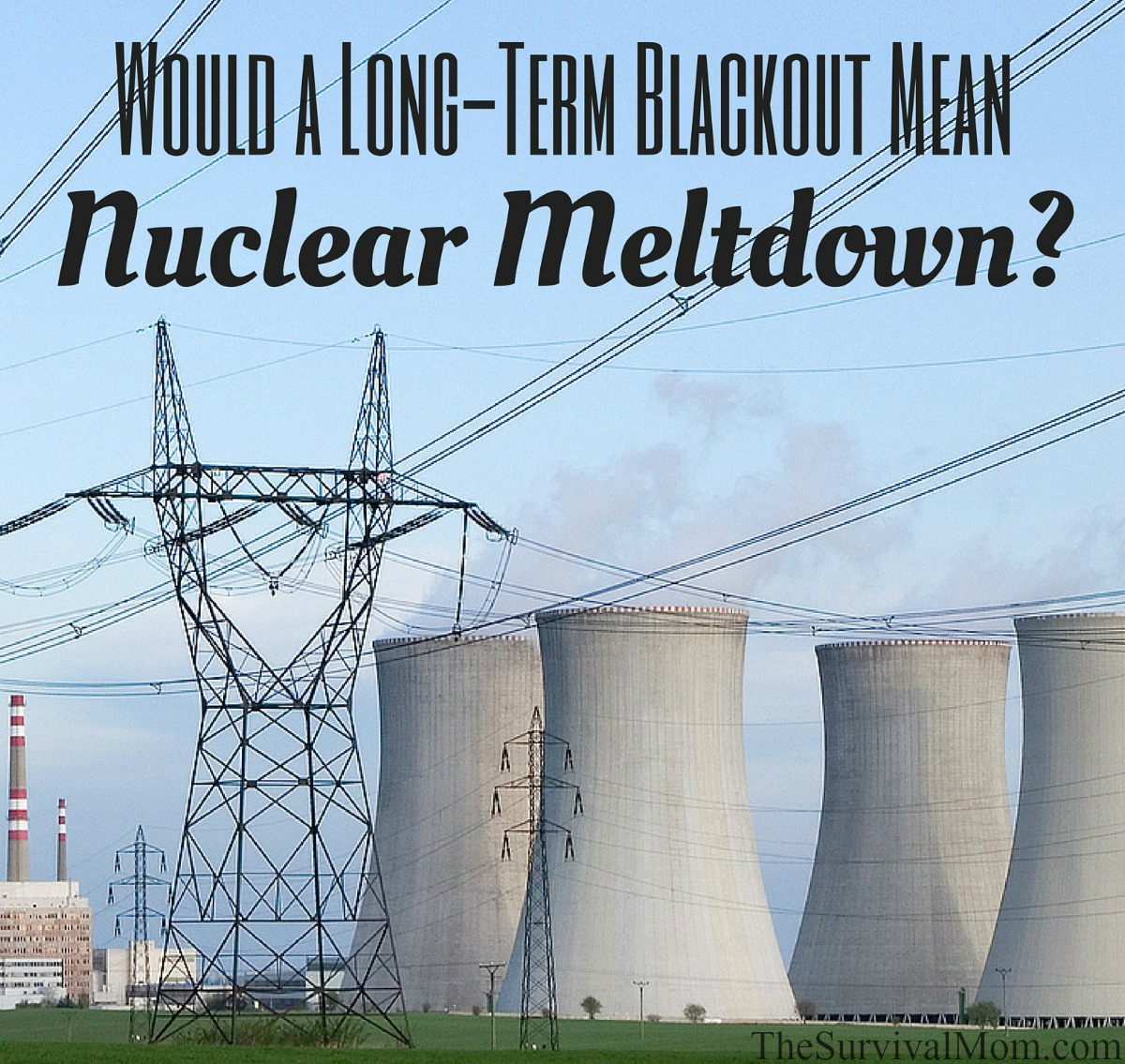 Would a Long-Term Blackout Mean Nuclear Meltdown? via The Survival Mom