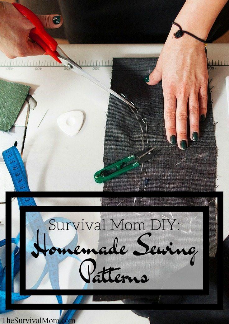 DIY sewing patterns-