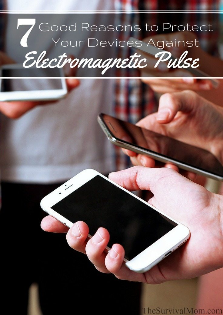 protect electronics from electromagnetic pulse