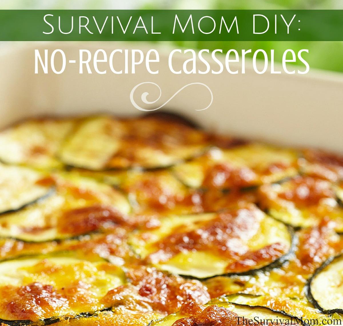 food storage casseroles