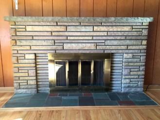 Natural fireplace