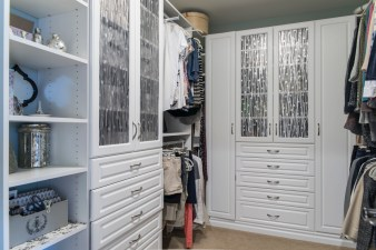 Master custom closet 1