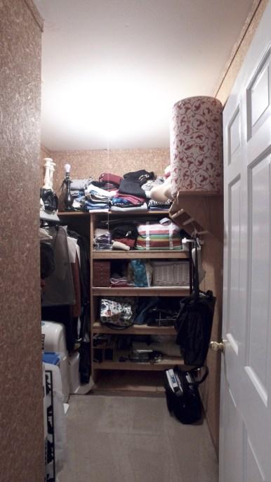Upstairs cedar closet