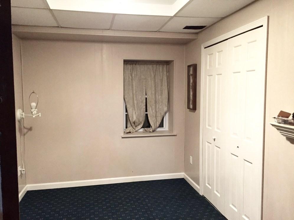 6th bedroom in basement