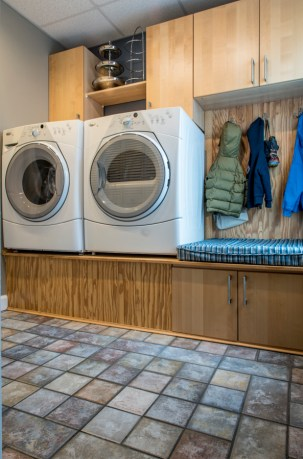 First floor laundry/ mud room