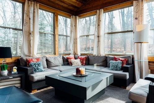 3 season retreat with heater