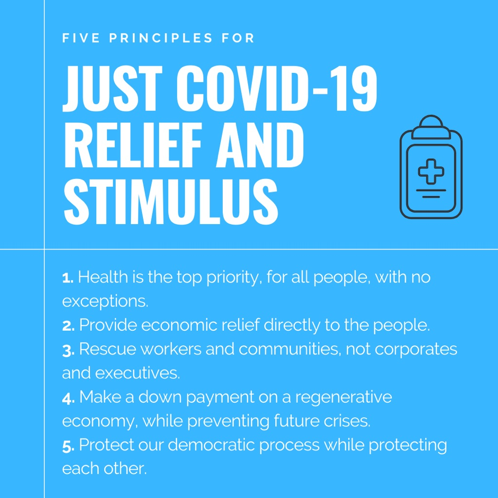 Just covid-19 relief and stimulus - 5 factors