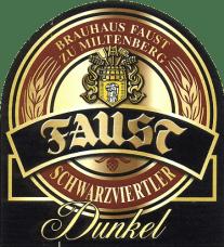 Faust Dunkel (Dunkel), 500ml, 5.2% or 2.6 units - Malty, banana, clove, fruity goodness