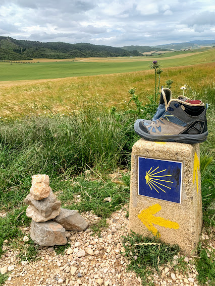 Signage of the Camino