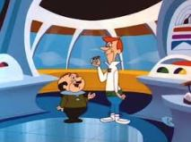 George Jetson and his boss