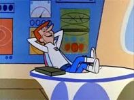 George Jetson relaxed