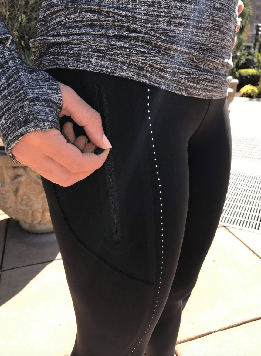 Lululemon Extra Mile 1/2 Zip, Extra Mile Tight