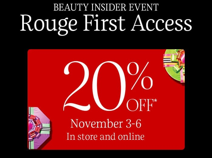 Sephora VIB Rouge Sale