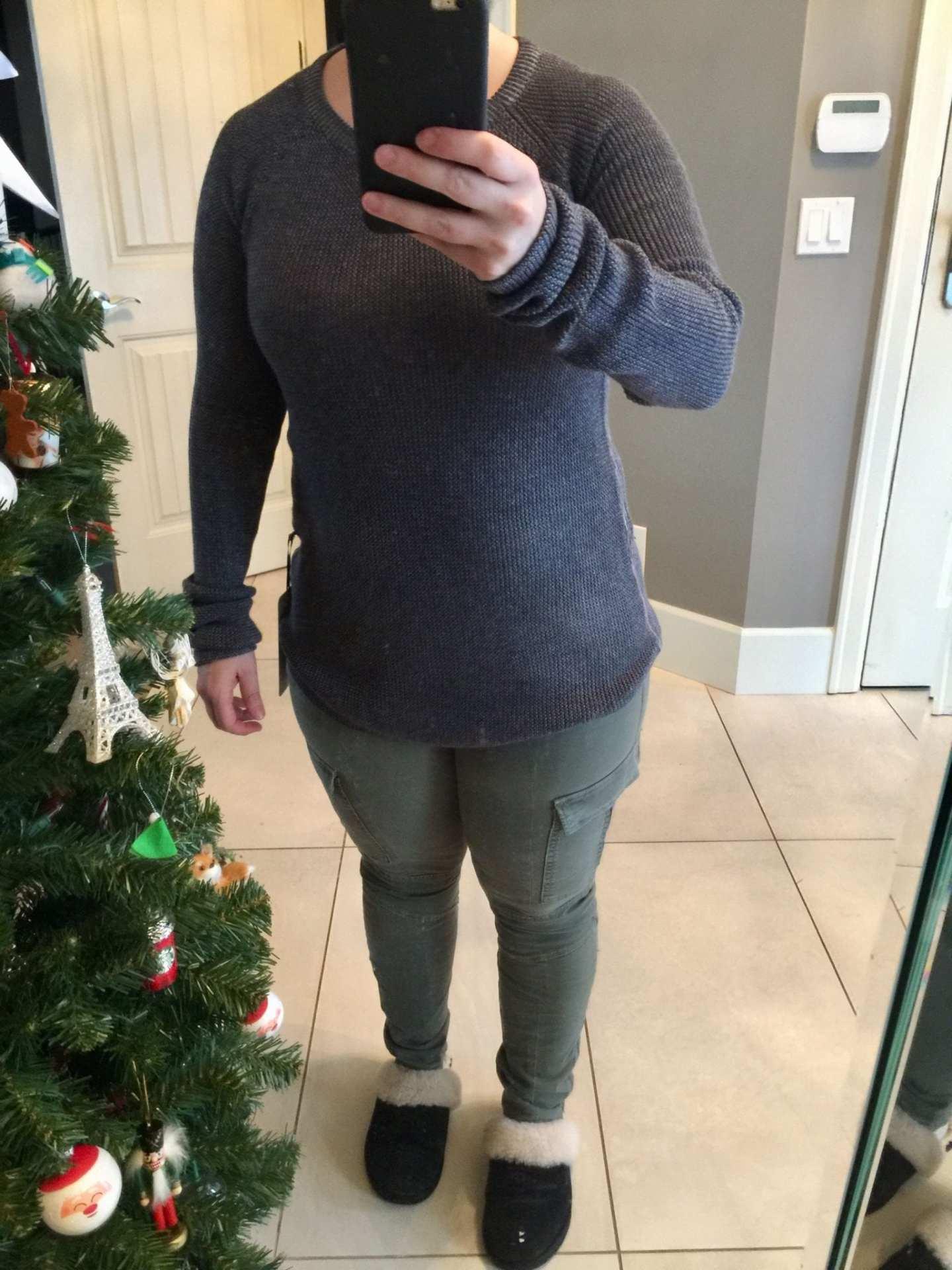 Cabin Yogi LS II, J Brand Houlihan Cargo Skinny Pants