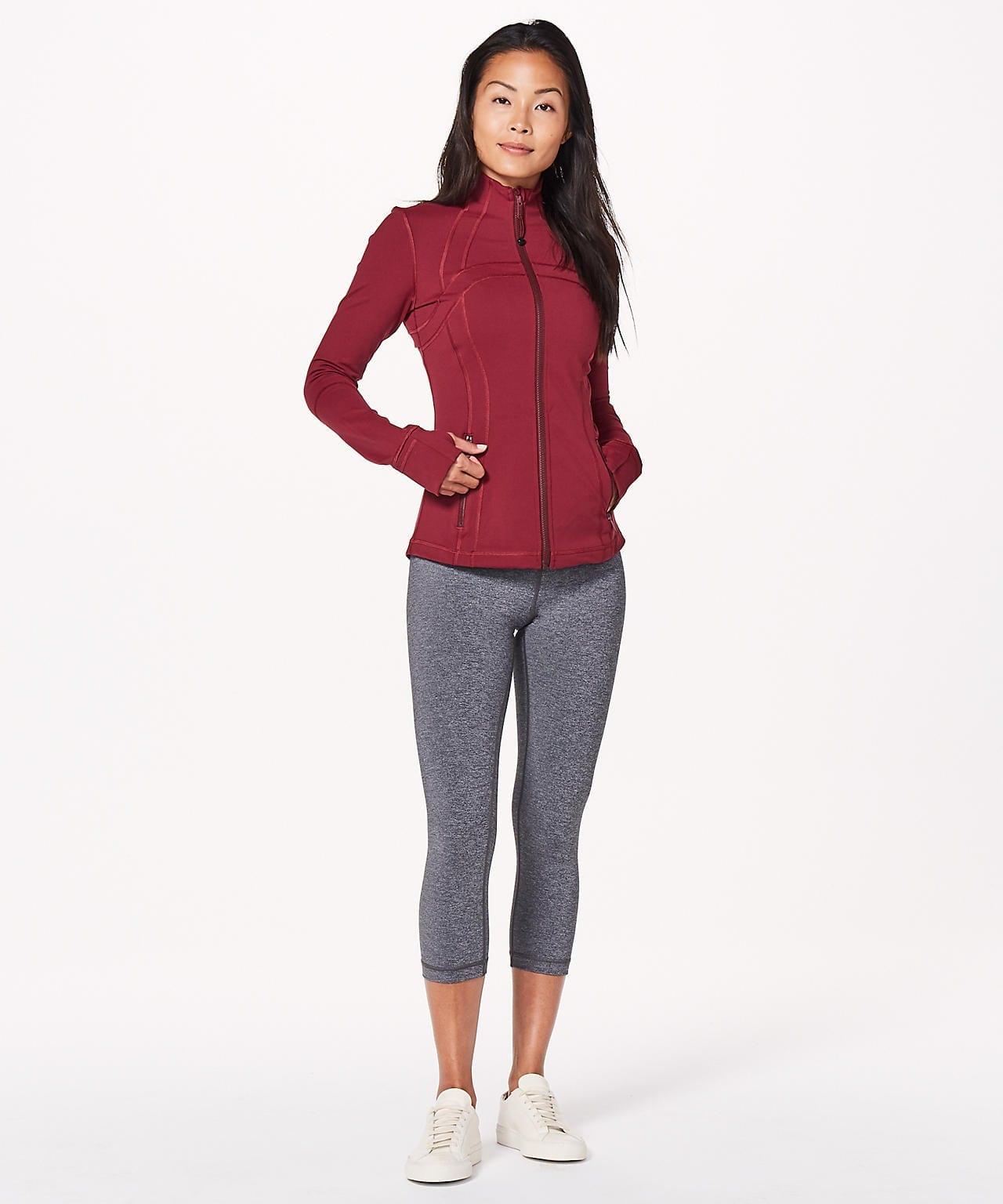 Lululemon Define Jacket, Ruby Wine