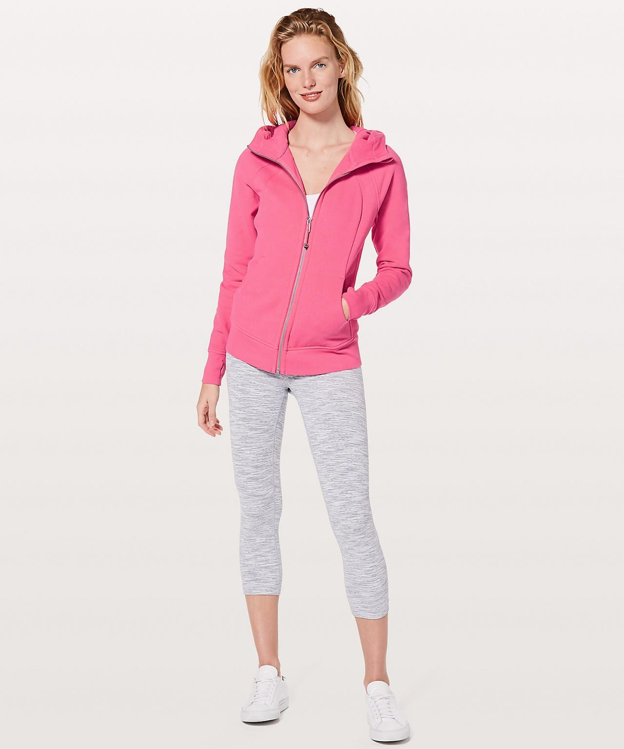 Lululemon Scuba Hoodie Light - Glossy Pink