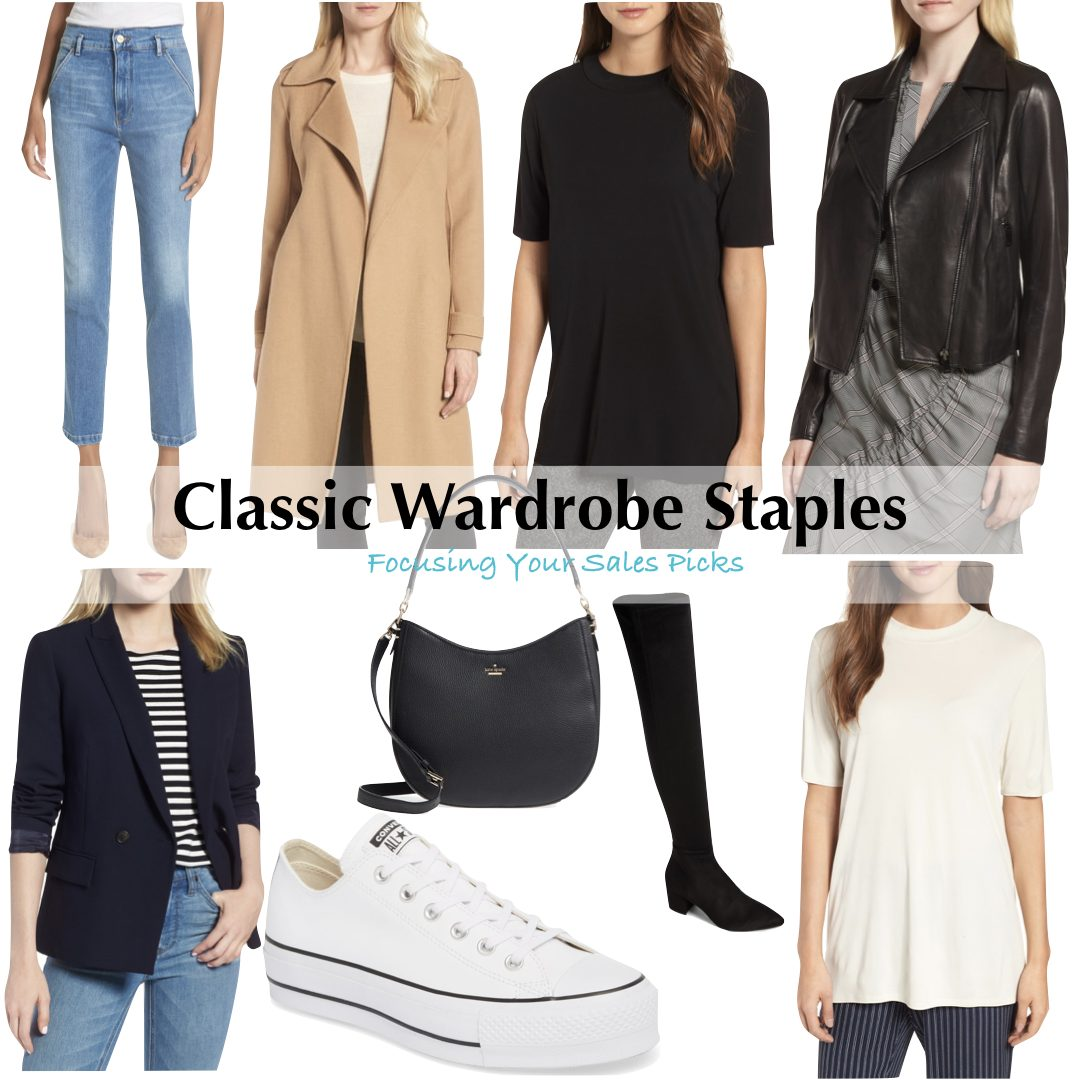 Classic Wardrobe Staples - Focusing Your Sales Picks