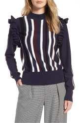 Halogen Detachable Sleeve Sweater