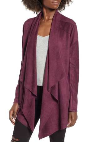 BLANKNYC CLOUD NINE DRAPE JACKET | NORDSTROM Anniversary Sale 2018