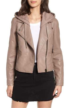 Blank NYC Meant To Be Moto Jacket