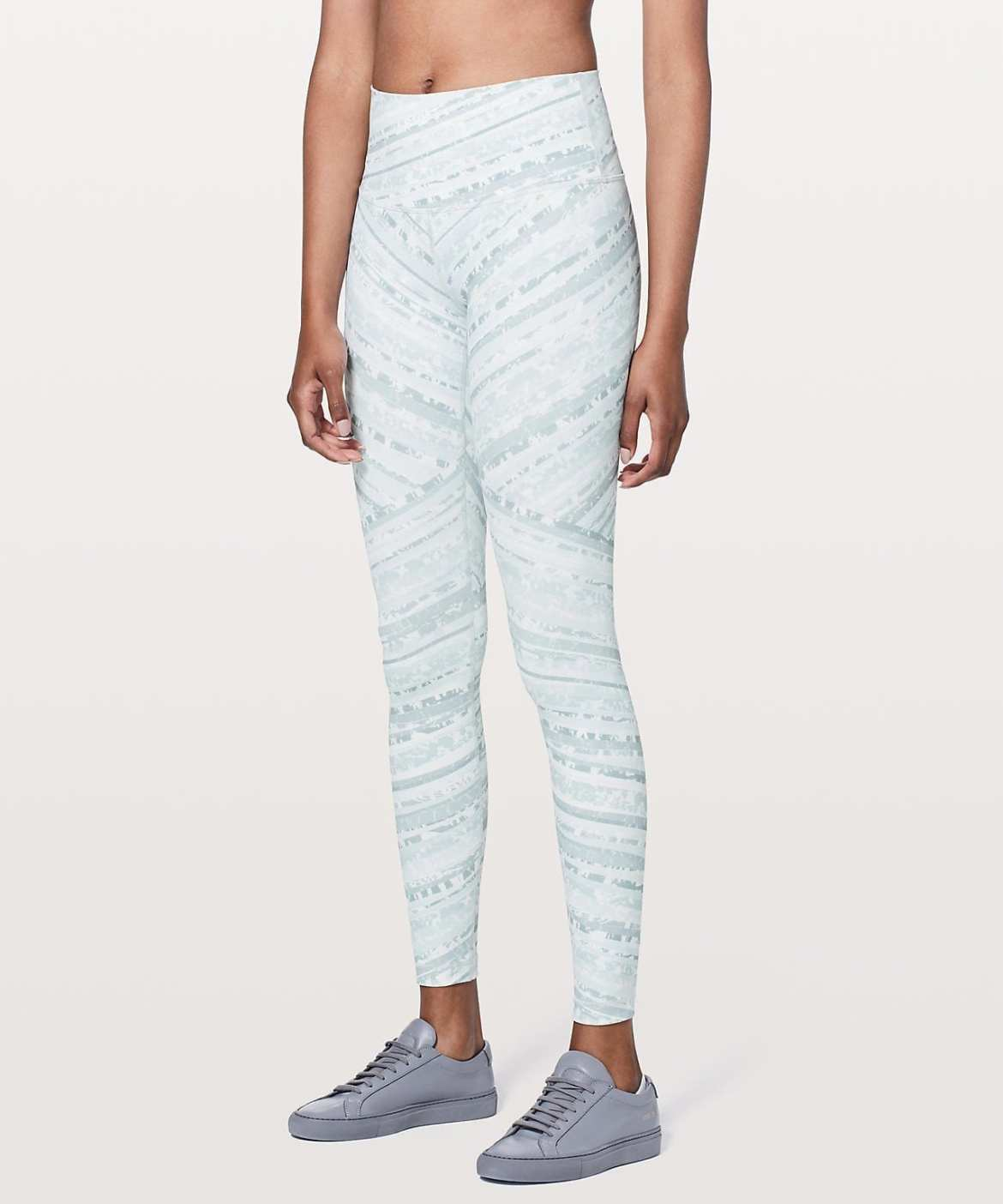 Lululemon New Product Upload - Wunder Under Hi-Rise Tight - Whirlwind Wunder Under White