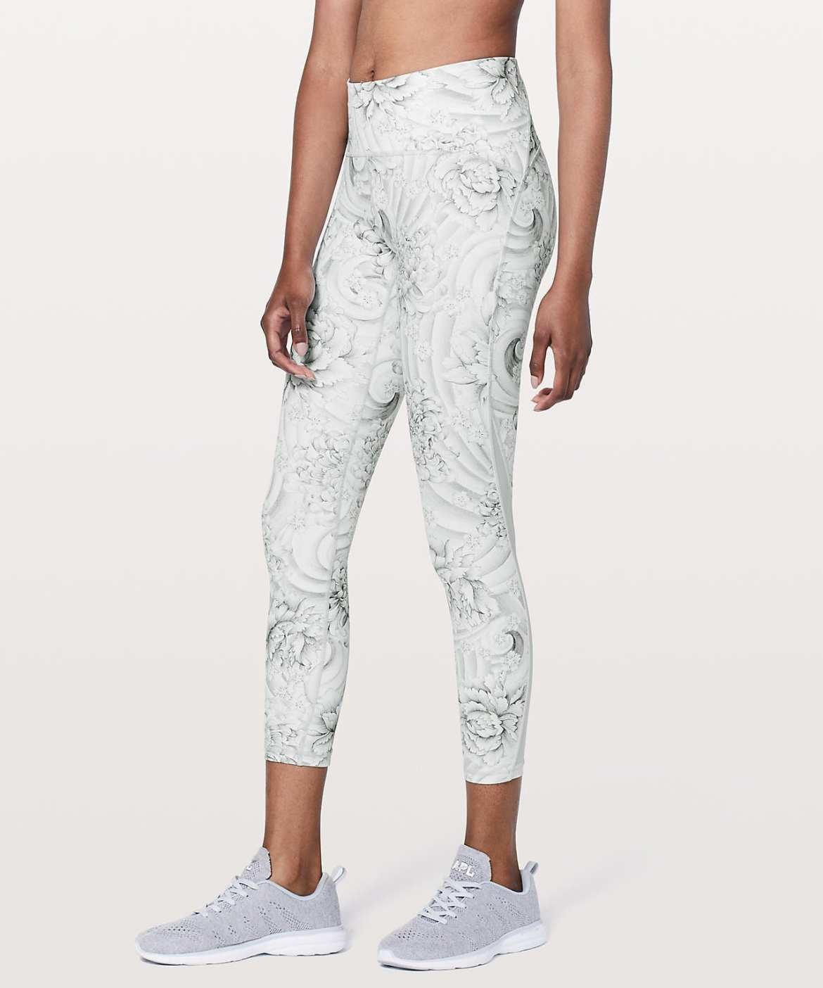 Lululemon Upload - Train Times 7:8 Pant - Twine White Multi:White