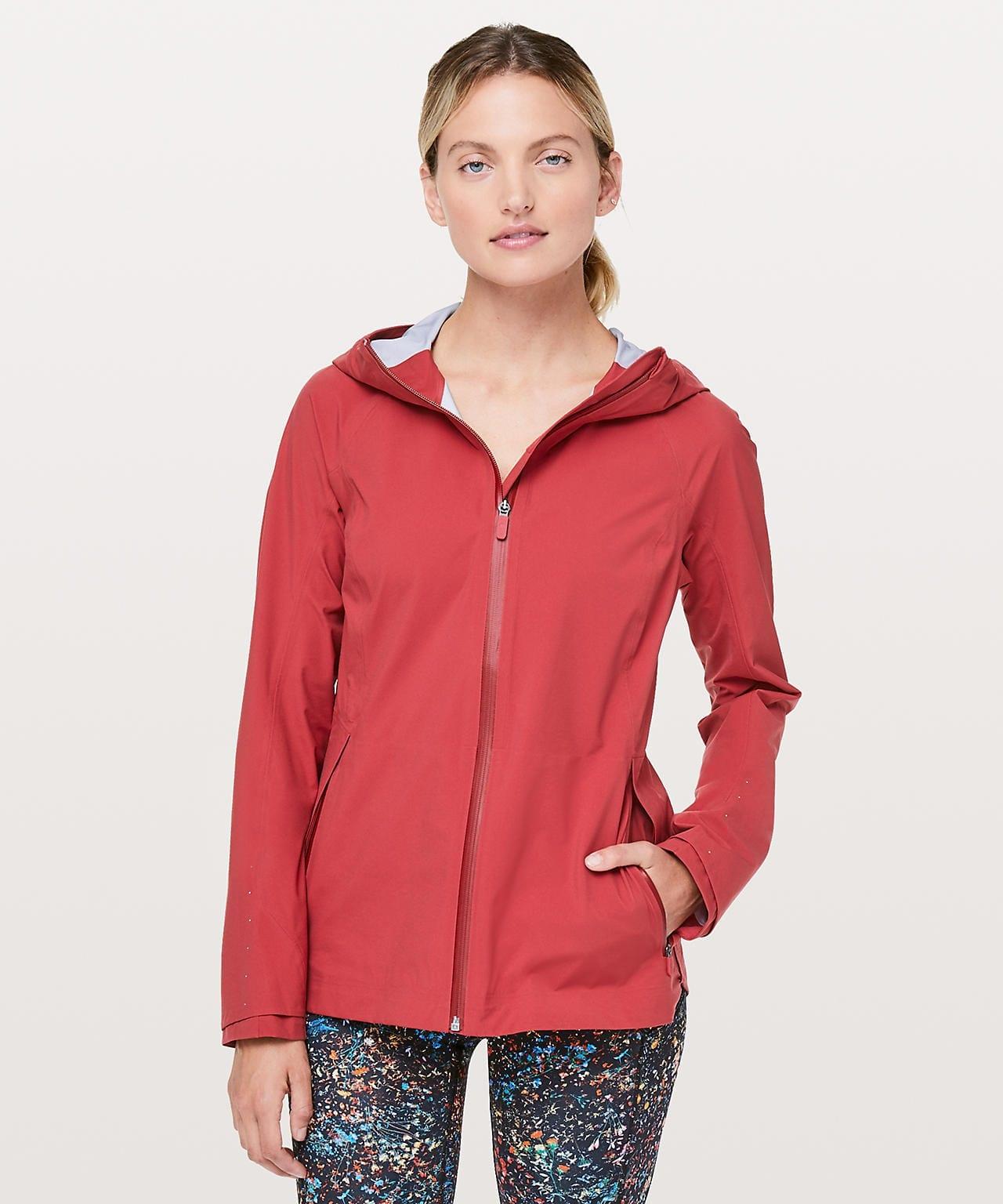 The Rain Is Calling Jacket III, Persian Red