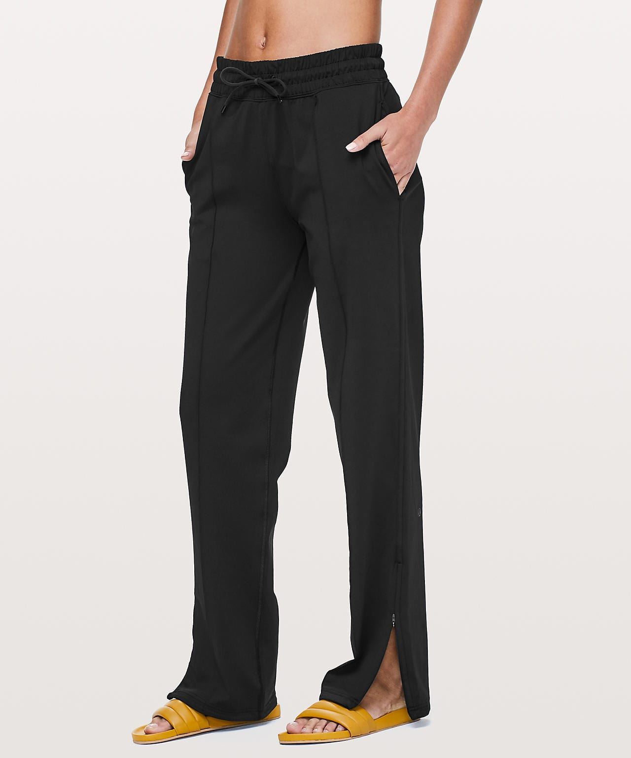 90's style track pant from lululemon.