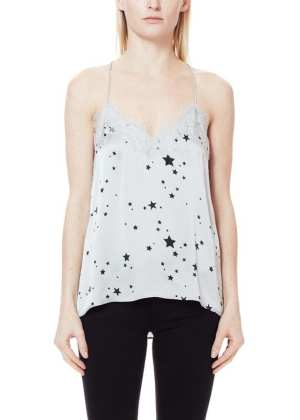 Cami Nyc The Racer Charmeuse Platinum Star